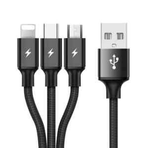 3 In 1 USB Data Charging Cable