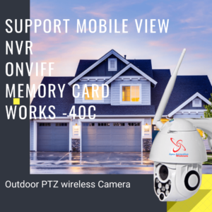 AWT2019OPTZ – Outdoor Auto-tracking Floodlight Security camera