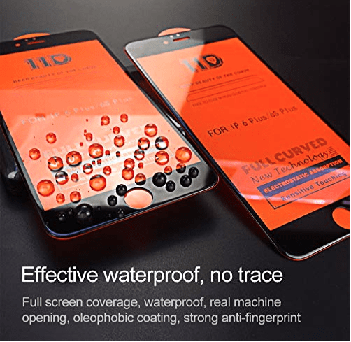 0.2mm 11d Tempered Glass For iPhone 6   6S