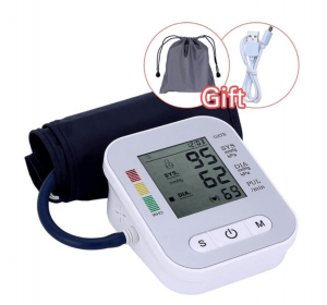 Electric Blood Pressure measurement with voice description - automatic